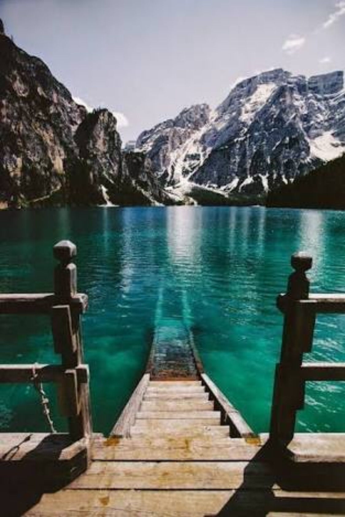 Lago Di Braies Italy Slaylebrity