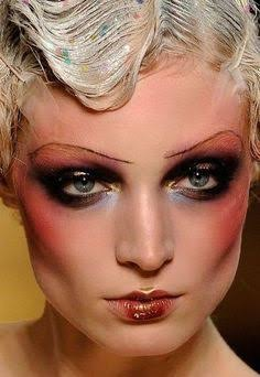 As you all know I always love a new take on makeup from the 20s 30s etc and this is no exception ! This look by Pat McGrath & John Galliano is ...