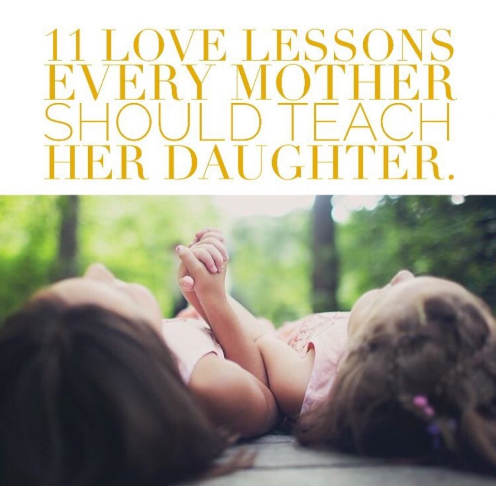 love lessons every mother