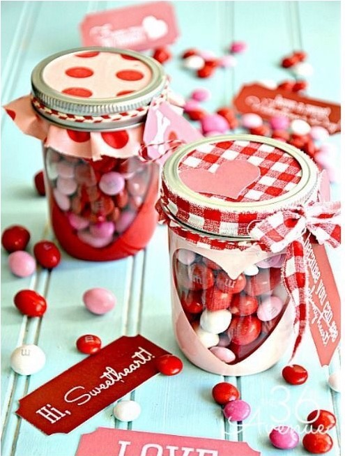 Valentine Heart Candy Jar Slaylebrity