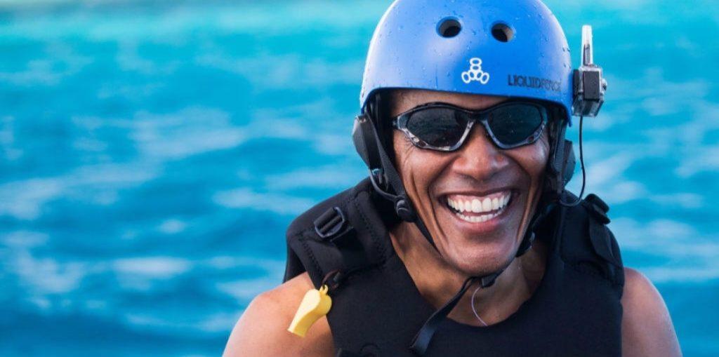 Obama is still on Vacation