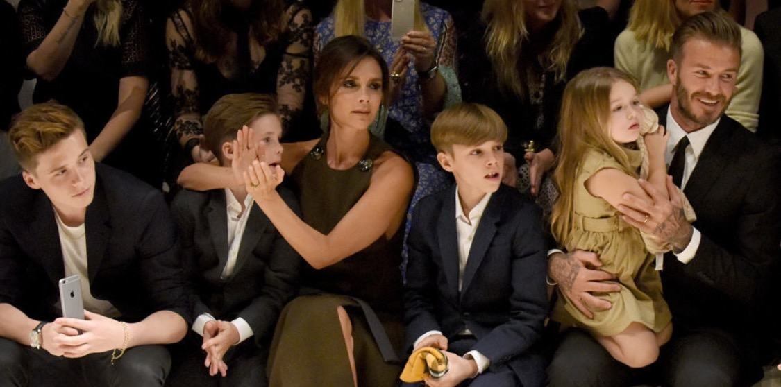 How the Beckhams spent Mother's Day