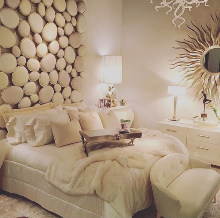 Stunning Pebble Headboard