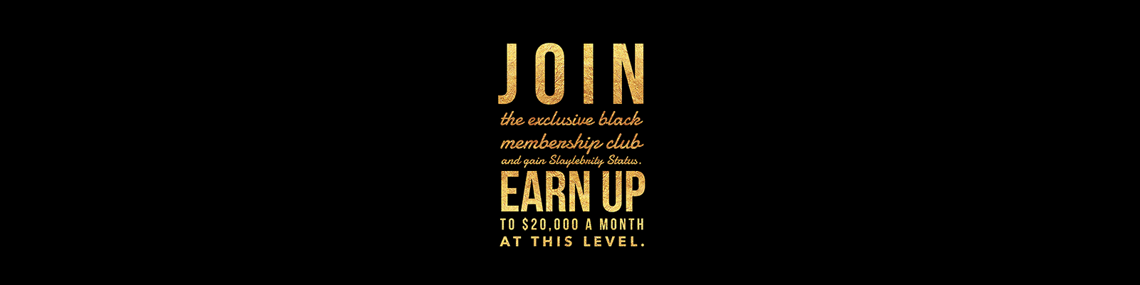 Join the exclusive membership club