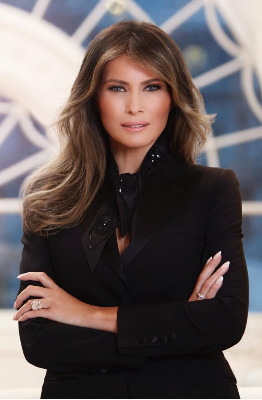 Melania Trumps official