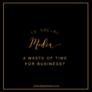 To what extent is social media pointless for business?