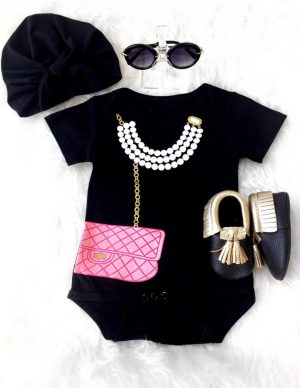 Purse bodysuit set