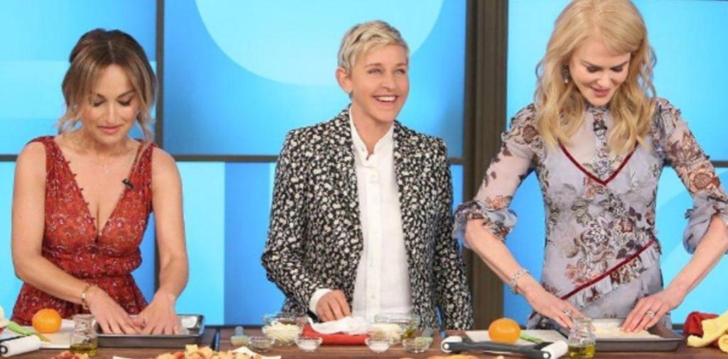 Ellen and Nicole Kidman