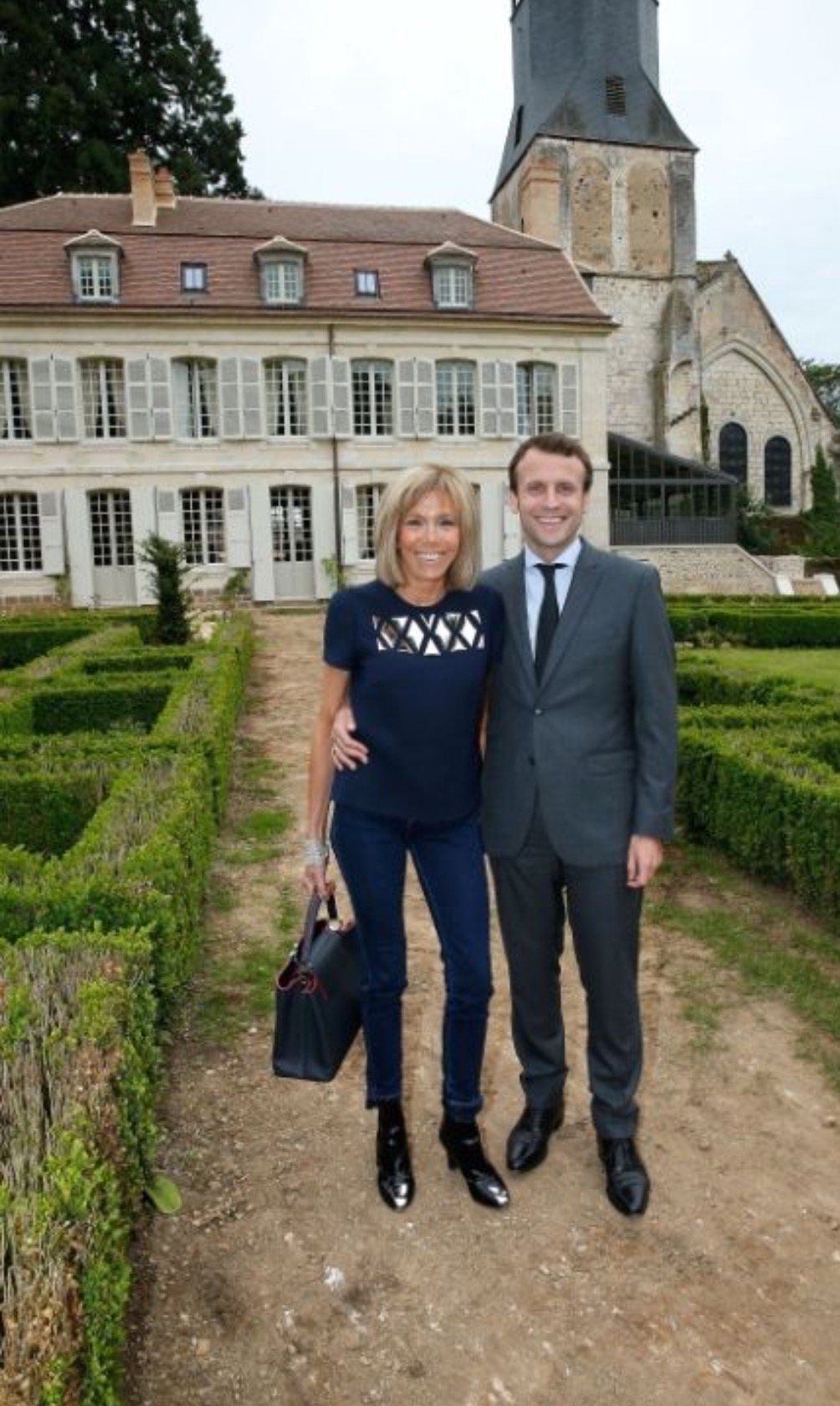 France's first couple