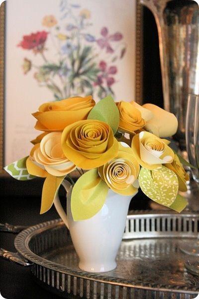 Rolled paper flowers slaylebrity rolled paper flowers mightylinksfo