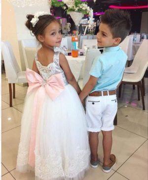 A stunning Princess style dress