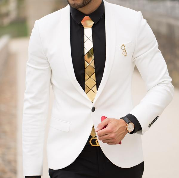 How To Slay Your Gold Hex Tie