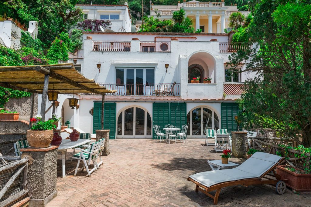 Villa in the heart of Capri