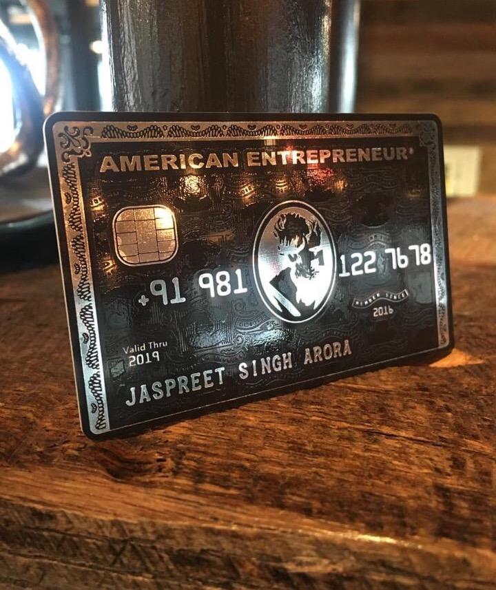 Luxury business card | Slaylebrity