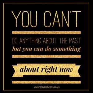 Don't let guilt poison your future empty it out Now!