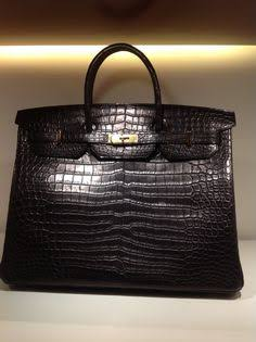 05451b4db5 Hermès BIRKIN BAG 40 Crocodile Porosus Matte Noir - PHW