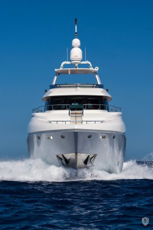 Crystal luxury yacht