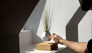 The levitating planter