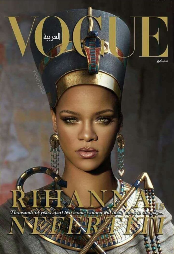 Not everyone is happy with rihanna 39 s vogue arabia cover for Villas vogue