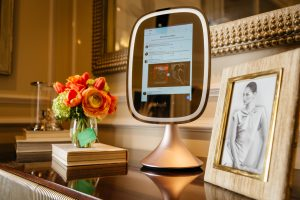 High tech luxury vanity mirror