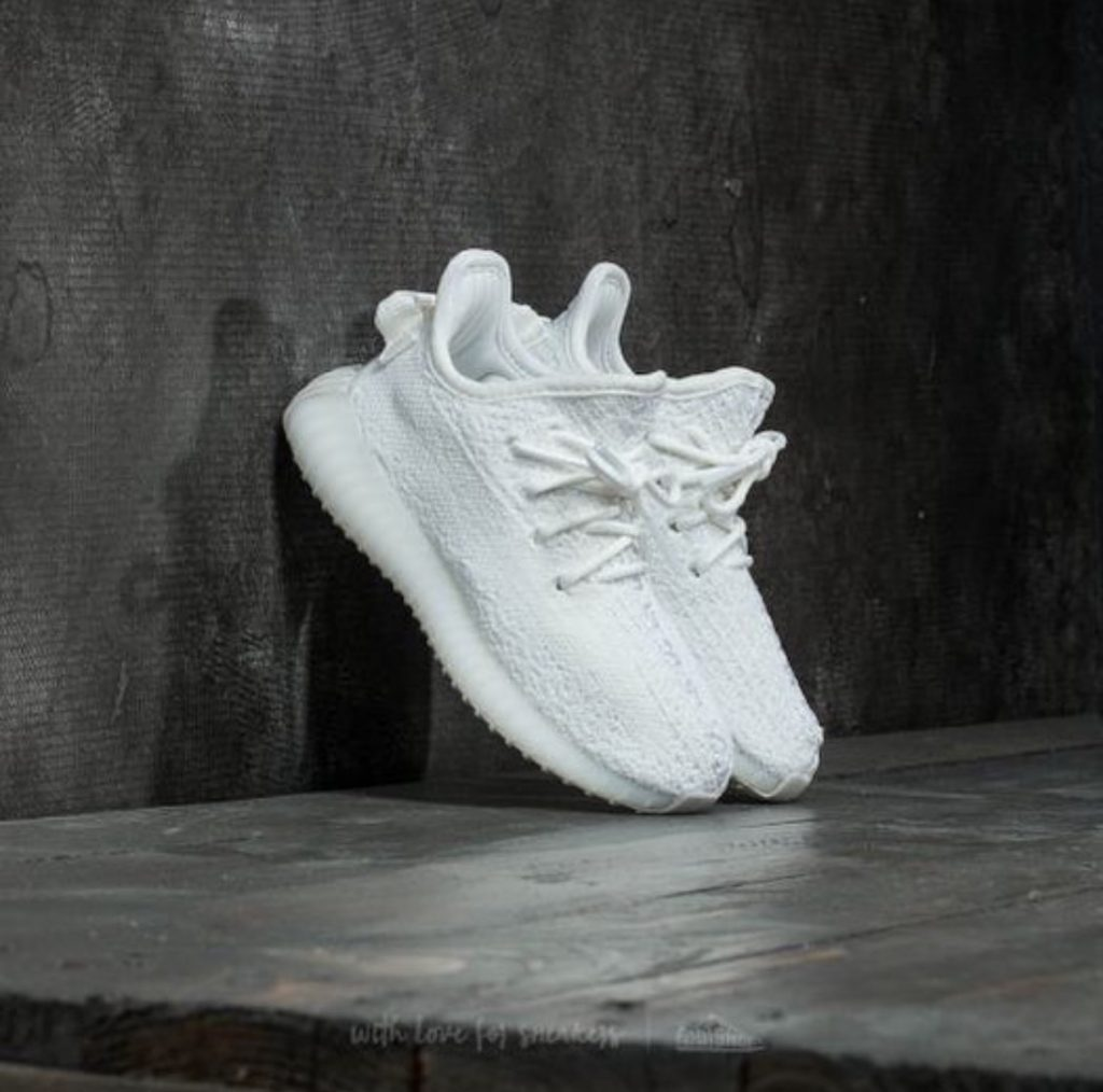 86d5a5a0b3b609 Adidas Yeezy Boost 350 V2 Triple White Infant