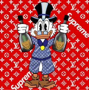 Limited Edition Scrooge X Supreme
