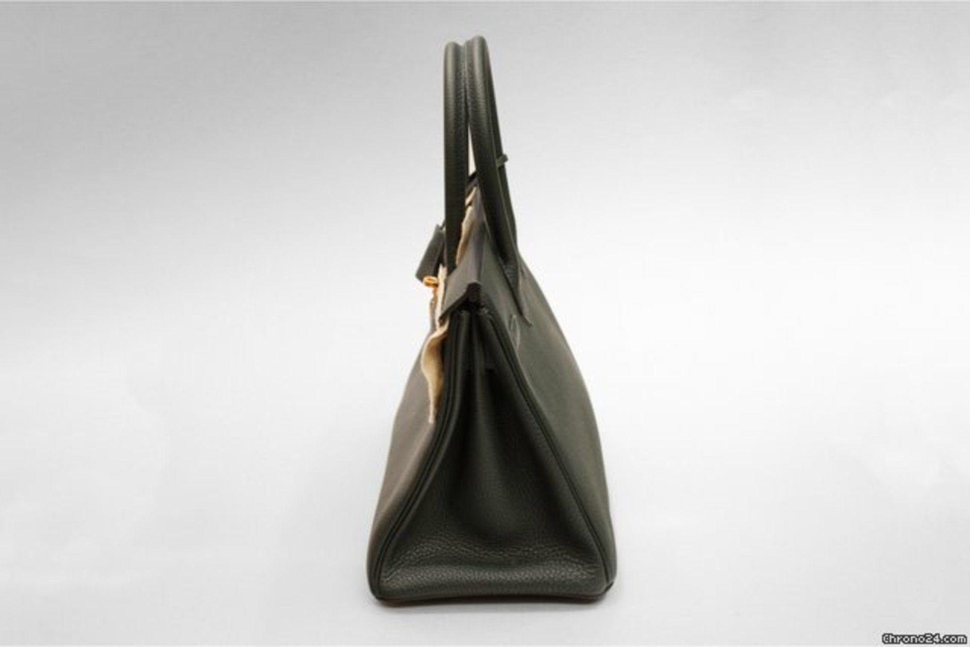herm s birkin bag 30cm togo gr n mit kompletter hermes. Black Bedroom Furniture Sets. Home Design Ideas