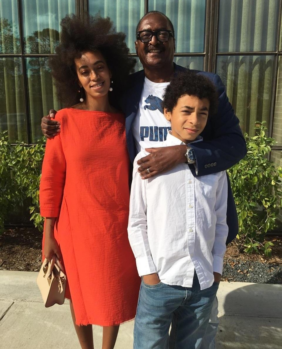 Solange Knowles Son Mathew Knowles ...