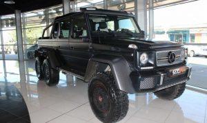 Mercedes Benz G63 6X6 Matte Black