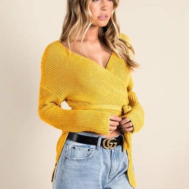 Acrylic sweater, Wildfire sweater