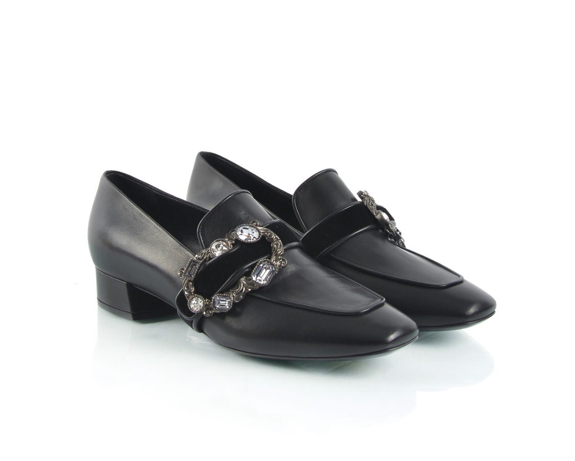 Casadei Black ladies shoes