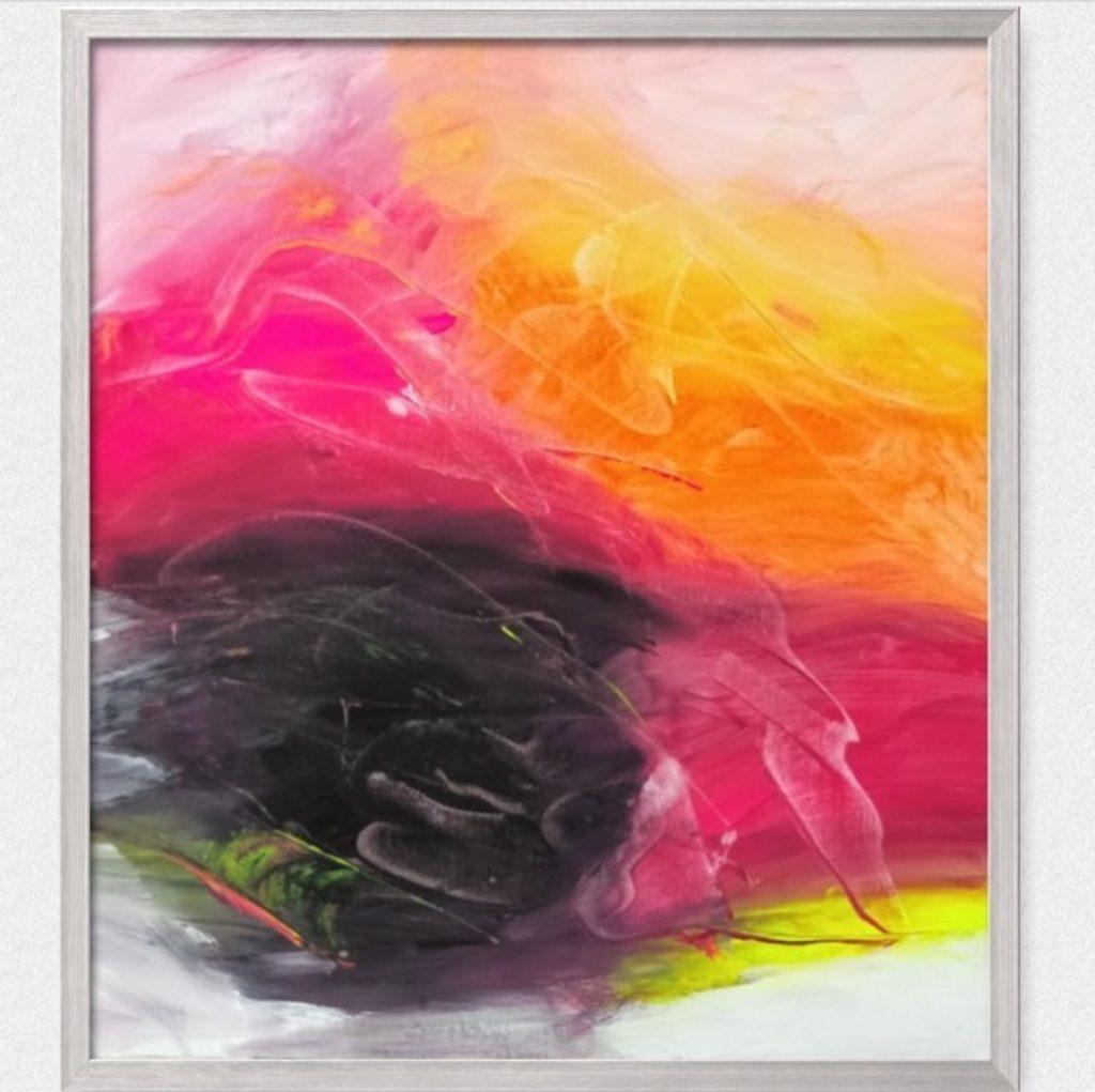 Color Mash - An Original Acrylic Painting