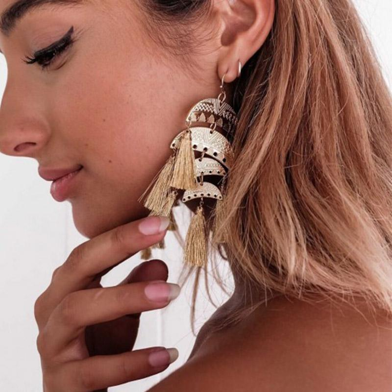 Buy FIESTA Tassel Earrings