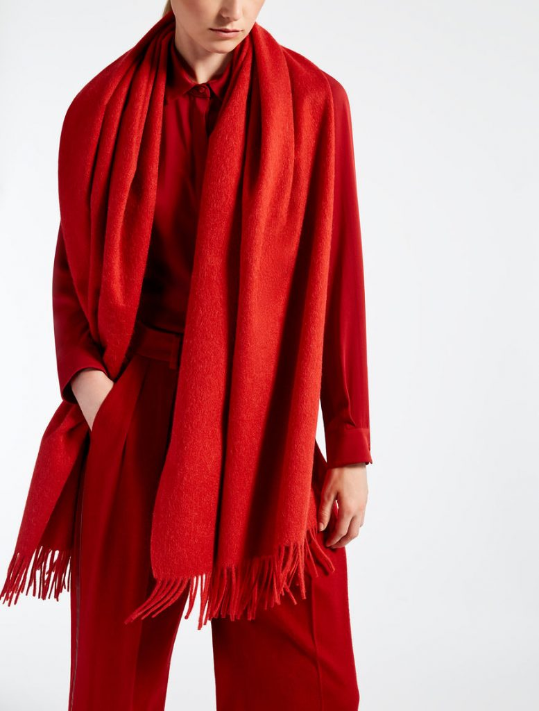 All red fashion combo