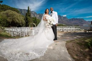 The spectacular wedding of Banky Wellington and Adesua Etomi