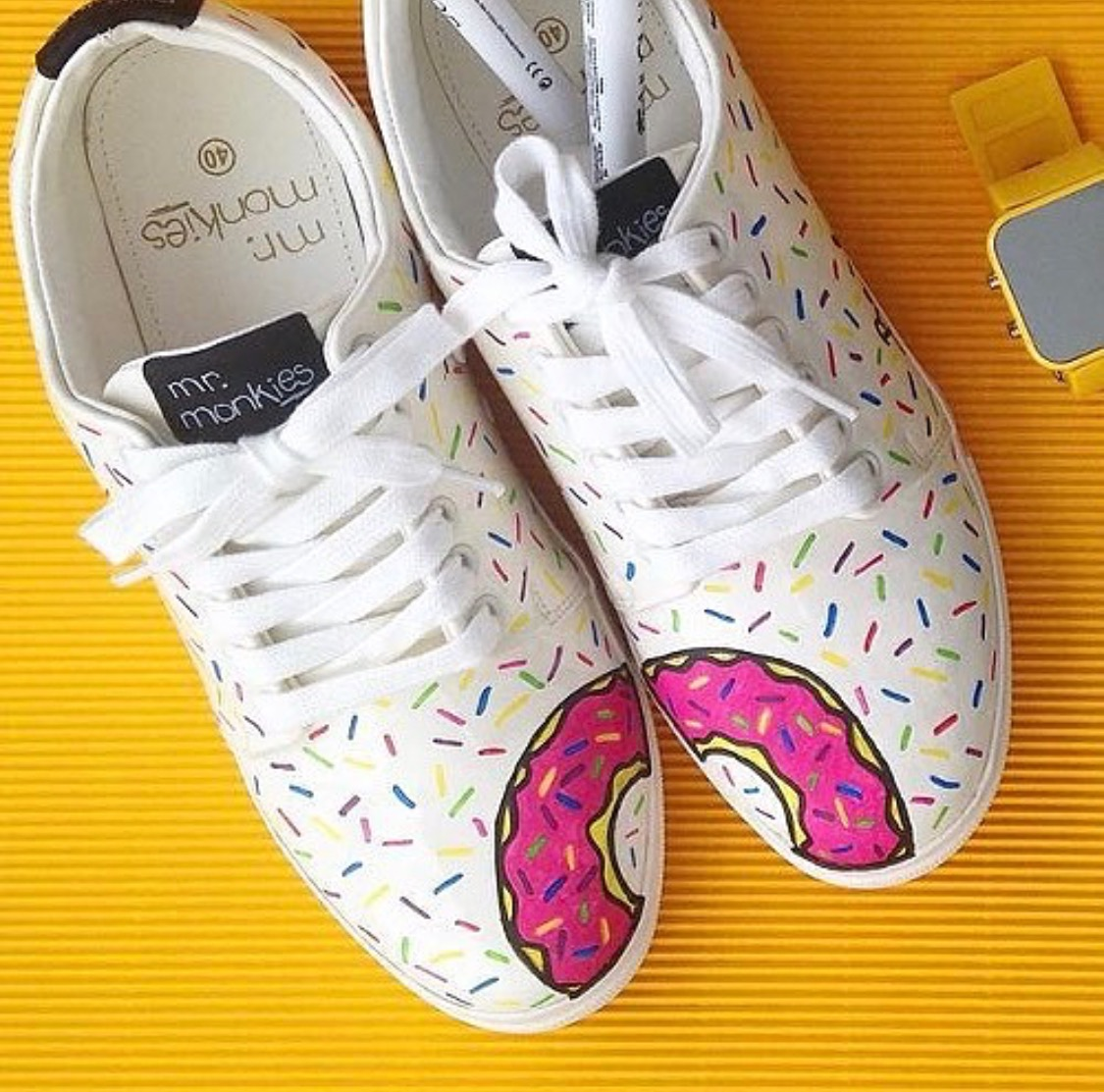 Magic Vinyl Sneakers