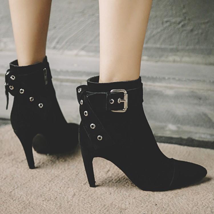 JAKE Pierce Leather Boots