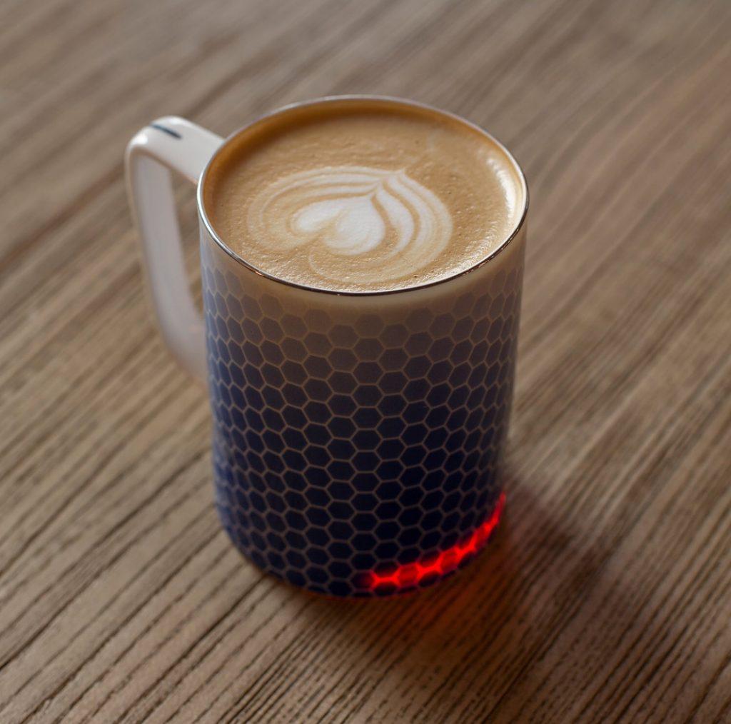 Smart mug: Honeycomb