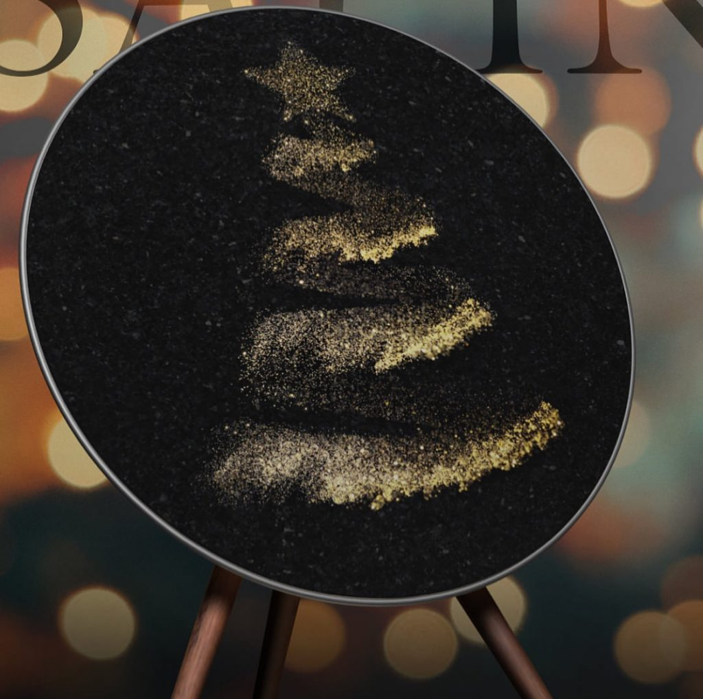 Bang and Olufsen Beoplay A9 and Xmas cover