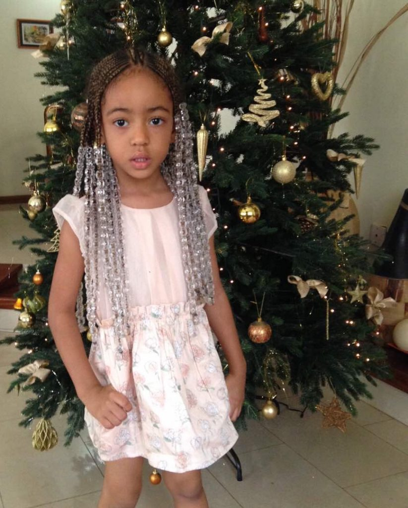 How to style your bambinis hair with beads