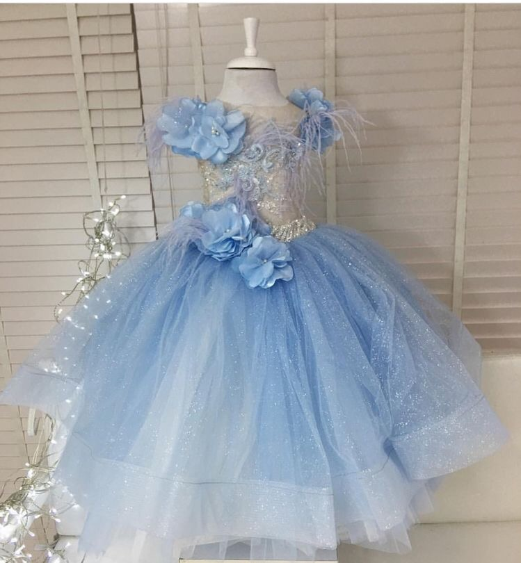Couture dress For a frozen themed party