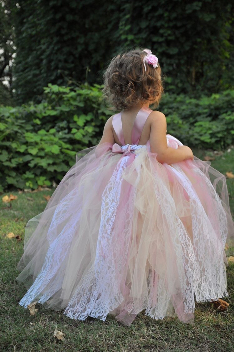 Flower girl stunning couture dress