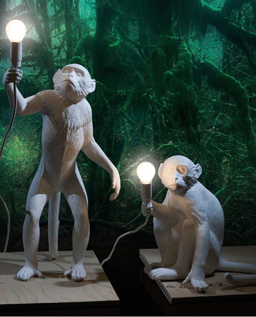 The Monkey Lamp