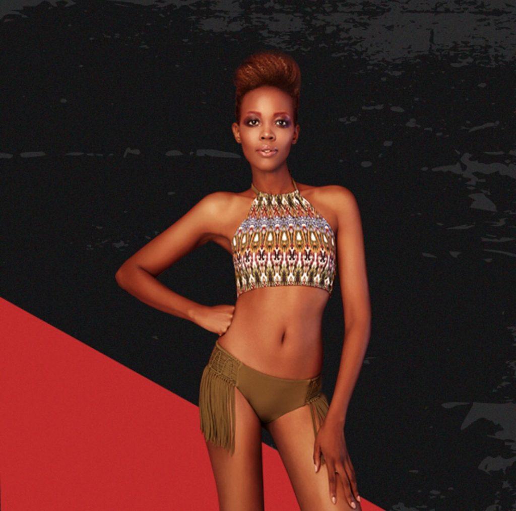 Luxury aztec fringe bikini