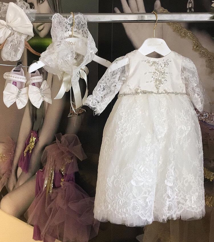 High end luxurious baby couture