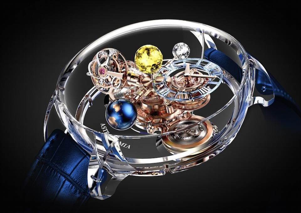 Jacob & Co. Astronomia Flawless $1 Million watch made its debut last year