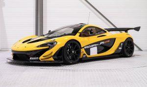McLaren P1 GTR -STOCK-NEW-REAL CAR-YELLOW/BLACK-