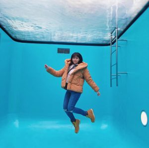 The Swimming Pool Permanent Exhibit by Leandro ERLICH