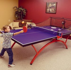 The future of table tennis has arrived