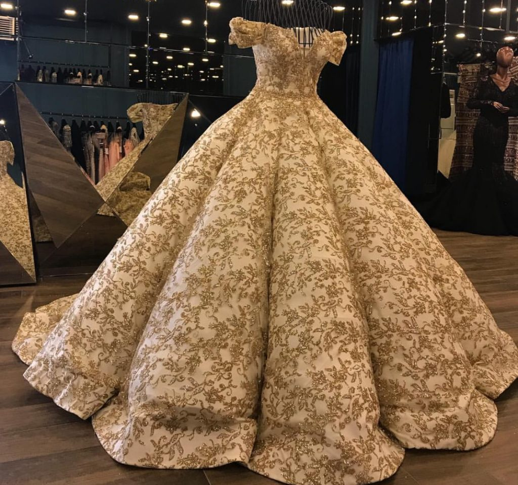Belle evening ball gown | Slaylebrity